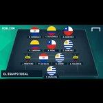 Paulo Da Silva y Derlis Gonzalez en el Once ideal de la 1ra Fecha de las Eliminatorias. http://t.co/PCyIU76iCu