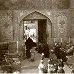 احدى بوابات مرقد #الامام_علي عليه السلام في #النجف ألاشرف في عام 1920 . #العراق #Iraq http://t.co/bPim6VD8gx