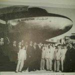 صور نادرة لإستلام أول طائرة فايكنك (Viking) للخطوط الجوية العراقية بإسم (المحفوظة) سنة 1947 #iraq #العراق http://t.co/hYexSTqu0u