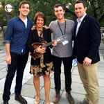 What fun, hanging out on a perfect Carolina night and giving tips to @mipsomusic & @HoustonSummers7! http://t.co/Ts61sozGsj