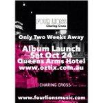 #fourlions #charingcross #albumlaunch #bendigo #satoct24 @QueensArmsHotel #charingcross #outnow #9.99 #au #digitally http://t.co/x5YUXL2Dyo