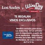 Vamos que sorteamos la segunda caja de #Vinos! Particpá dando RT y Fav @LosAndesDiario http://t.co/jKIcGYzvzm