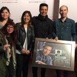 Qué honor!! Gracias #Chile! Disco de platino! #EnTodoEstareTour Fotos: http://t.co/qvhAGAUeZ6 http://t.co/FY9LD5B35J