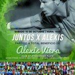 Hoy a las 15:00 h, partido a beneficio de Alexis Viera en el Parque Saroldi. http://t.co/VmX1grNlhp
