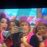 #EBDabarkadsPaMore Groufie of the week: Yaya Dub and the Explorer Lolas take over Eat Bulaga stage. @bayanisandiego http://t.co/dpS3nXIPxA