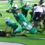 VIDEO: Marshall DL recovers fumble, swan dives into the end zone for an epic fat guy TD http://t.co/CTW1bLhpnI http://t.co/29boK9Me0z