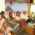 "Press conference Banyuwangi Batik Festival 2015 ""kami siap tampilkan pagelaran lebih dari sekedar fashion"" http://t.co/1CYLpXdFiL"