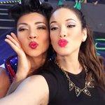 Con la ganadora de la noche @DianaSanchez_04 💃🏼🏆 😘 http://t.co/jU1QiC2Lq5