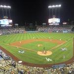 Lefties. Murph homer makes it 1-0 Mets Top 4. Lets Go Mets chants at Dodger Stadium. http://t.co/jfEDxwk42x