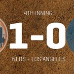 Daniel Murphys solo shot puts the Mets up 1-0 to lead off the 4th. http://t.co/GjW3lqnoGo