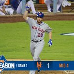 Middle of the 4th. 1-0 #Mets thanks to Murph! #LGM http://t.co/Gp3yivz1Mj