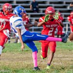 Dominant performance today by @EDMONDSONHS against undefeated #NAF 36-0 #Redstorm 5th win in a row #baltimore http://t.co/SRHV1trMOo