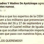 RT tiza1824: RT AyotzinapaFeed: RT josecruzcatorce: RT Loe_25sept: Padres y madres de #Ayotzinapa acerca d los mil… http://t.co/xFCQEVBRha