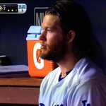 Its an tradition unlike any other ... Sad Kershaw watching from the bench in October. http://t.co/1W1lbVUjFT