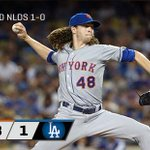 And thatll do it! #Mets take Game 1 over the #Dodgers, 3-1. http://t.co/lOYMno6DBp http://t.co/wUyoBX4OFR