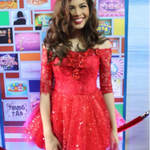 YAYA DUB IS READY! GO MAINE!!! @mainedcm SHES PRETTY IN RED RIGHT? #EBDabarkadsPaMore http://t.co/hKRBcbBXaV