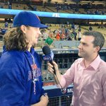 The Mets and deGrom take Game 1 of the NLDS on the road, winning 3-1 @SteveGelbs http://t.co/CySipMHOtp