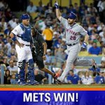 The #Mets take Game 1 of the NLDS with a 3-1 win over the #Dodgers! http://t.co/jMTDUpVuzH