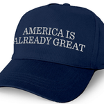 Dems selling 'America is already great' hat to mock Trump: http://t.co/XeV00UljFy http://t.co/PBdSgt6prZ