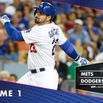 RECAP: #Dodgers drop Game 1 of #NLDS to Mets, 3-1. {http://t.co/zVESC5R7RM} http://t.co/iNtTL22jQg