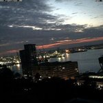 Sonnenenaufgang #Hamburg http://t.co/MfJ5rDEzfm