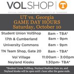 Wake up @VolNation, its FOOTBALL TIME IN TENNESSEE! Stop by & get your GREY @Vol_Football gear! #BeatUGA #VFL http://t.co/gwdXTmZQnh