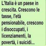 Renzi ha ragione litalia cresce http://t.co/oXEEcEn39D