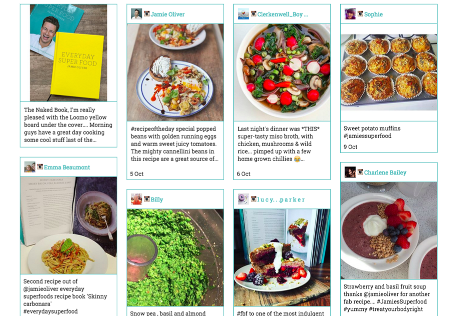 top posts from #JamiesSuperFood this week get involved and inspire each other! http://t.co/hy5BsOKdqX http://t.co/hKjQopRcap