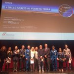 #FuturaInTour approda al @teatrolimpico di #Roma. @esa @ESA_Italia @ASI_spazio @AstroSamantha #latuasquadrachevola http://t.co/fzFqy1HCGA