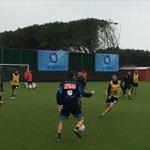 Pioggia e sudore: allenamento a #Castelvolturno senza azzurri impegnati in nazionale.  http://t.co/PHngaq6dOk http://t.co/2oYjh5nl6F