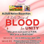 OFC ALDUB|MAIDEN NATION SUPPORTS @aldub_bayanihan @ALDUBPILIPINAS & @philredcross See u there! #EBDabarkadsPaMore http://t.co/As7bqdXwLx