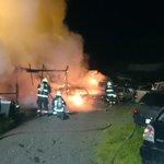 Osorno, Emergencia en Calle Catalina Keim. Frente a Sodimac (Bodega que arde). Foto Vía @Bomberos_Osorno http://t.co/jlOFwwtOKK