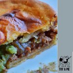 Crouch -Touch - pause - EAT - TRY A PIE   stacks of pies ???????????????????? today at our shop in #Newcastle #RWC2015 #newcastle http://t.co/V4Q344aWxy
