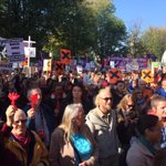 Thousands of people are now demonstrating against #TTIP in Amsterdam #TTIPalarm #trade4people http://t.co/EHBd2jiR7U