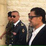 @raghebalama  #راغب_علامة  مع سيادة  العقيد الركن محمد المصطفى قائد فوج مغاوير البحر في الجيش اللبناني http://t.co/CZKpiYupTl