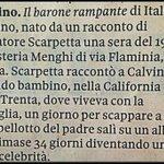 Quando a #Roma nascevano racconti per caso... (Il barone rampante, #ItaloCalvino) #Visioni @CasaLettori @Papryka5 http://t.co/c0cHMs0EUK