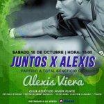 ????????HOY: a las 15 hrs. en el Parque Saroldi @JuntosxAlexis. http://t.co/K4liBWZERC