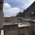 Importante incendio en la zona de avenida Italia y propios cc @portalmvd @Boconbonica @produccionesuy @TO2Uruguay http://t.co/tcnIjMOe6S