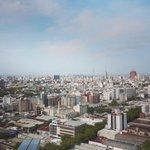 Montevideo desde lo alto. Vení a sacar tu foto desde la Torre de las Telecomunicaciones en el #DiaDelPatrimonio http://t.co/HT8gUr561r