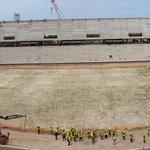 Así está nuestro Estadio a 20 meses del inicio de obras. Orgullo carbonero. http://t.co/1UKjygXnLv