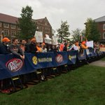 Lots of #Vols fans in attendance for SEC Nation! #WATE http://t.co/XUzX26Qipv