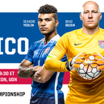 Its FINALLY here! #USAvMEX GAME DAY! 6:30 pm PT from @RoseBowlStadium, on @FS1, @Univision or @UnivisionSports http://t.co/E6xSH4g1oP