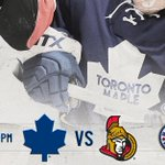 Its a @scotiahockey Game Day: The #Leafs take on the Senators tonight. #TMLtalk   PREVIEW: http://t.co/gWuLE81FGq http://t.co/aBfL6cnFNK