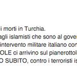 Strage e decine di Curdi morti in Turchia. A chi conviene? Forse agli islamisti che sono al governo? #Salvini http://t.co/WMrityFrdM