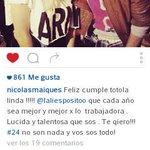 """""""24 no son nada y vos sos todo"""" ???? #Felices24Lali http://t.co/LbNJZgS5W4"""