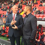 Pre match at the Lane today @SpecialKBrook @TheNigelAdkins #twitterblades http://t.co/dyXR6gcGGs