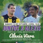 El Tony y el Chino juntos por el Pulpo. Hoy es el partido a beneficio de Alexis Viera http://t.co/har5kOalS3 http://t.co/BWrAY3xTy6