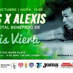 Hoy será el partido a beneficio de Alexis Viera en el Parque Saroldi http://t.co/vCv3EzIGbl http://t.co/V0cWu2tZem