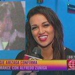 #VIDEO #AngieArizaga confirma romance con #AlfredoZuñiga tras ampay. Aquí sus declaraciones http://t.co/rhPp6xszpI http://t.co/aLdkRYpN9f