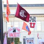 Waving proud in Salt Lake City for #169. @CollegeGameDay #GoCougs #WaveTheFlag #WSU http://t.co/b5STThtSwc